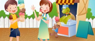 dzieci-lody-budka